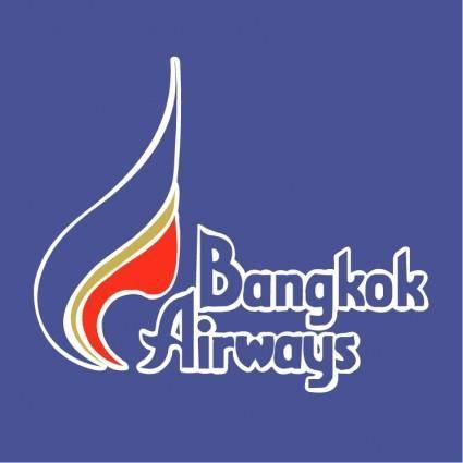 free vector Bangkok airways