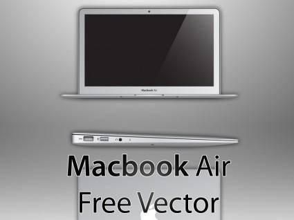 free vector Macbook air free vector