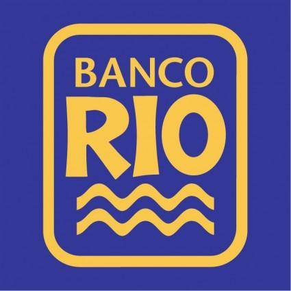 free vector Banco rio 0