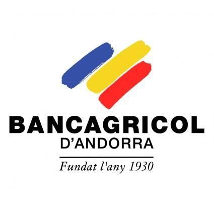 free vector Bancagricol dandorra