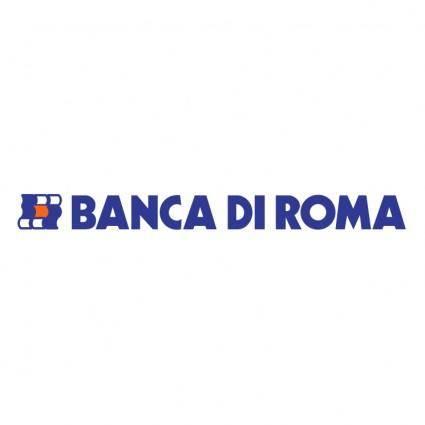 free vector Banca di roma 0