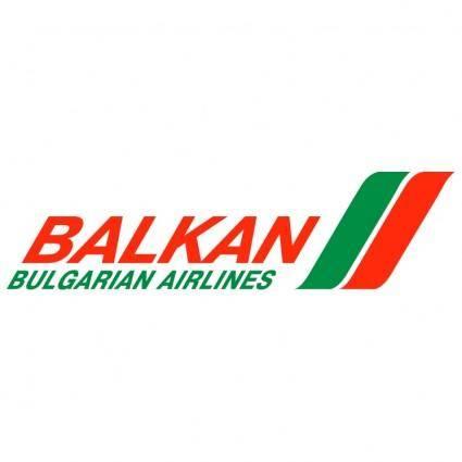 free vector Balkan bulgarian airlines
