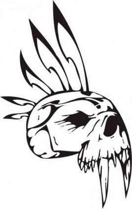 free vector Skull 1