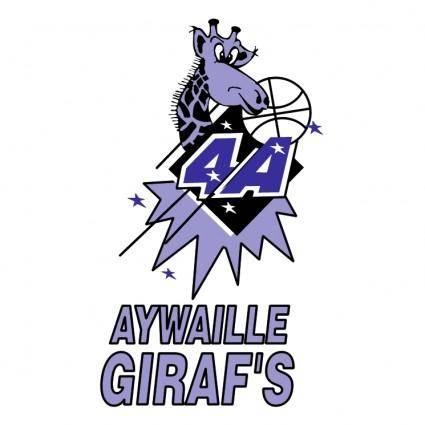 free vector Aywaille girafs