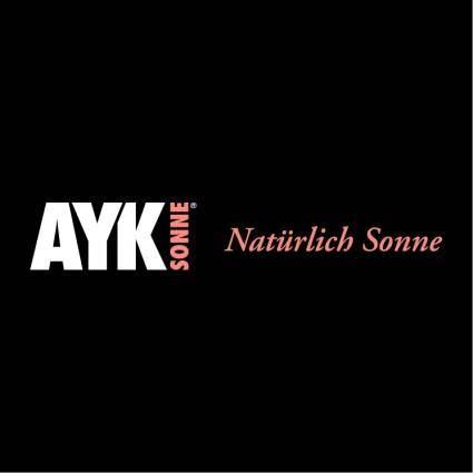 free vector Ayk sonne