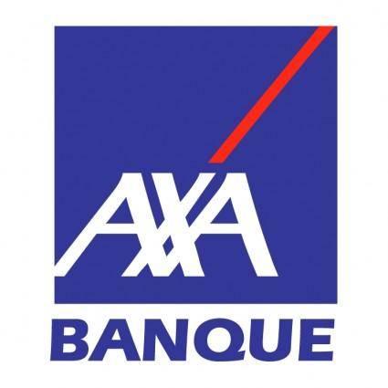 free vector Axa banque