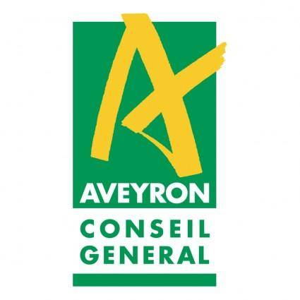 free vector Aveyron conseil general