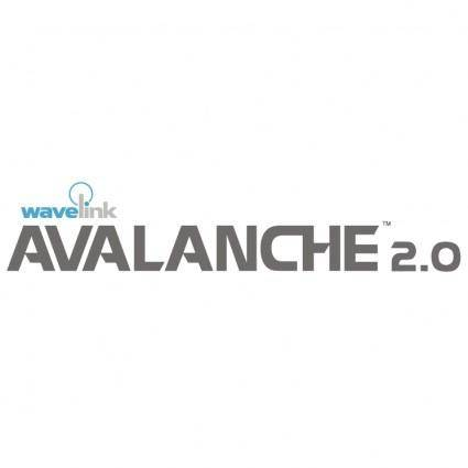 free vector Avalanche 1