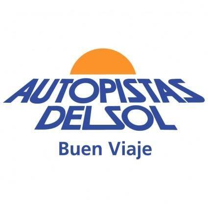 free vector Autopistas del sol