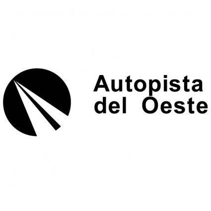 free vector Autopista del oeste