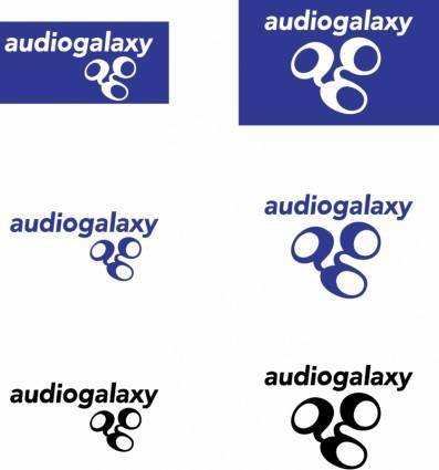 free vector Audiogalaxy