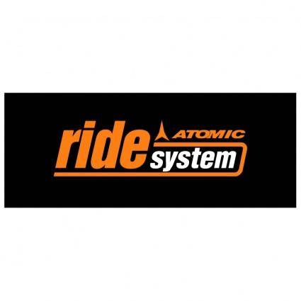 free vector Atomic ride system