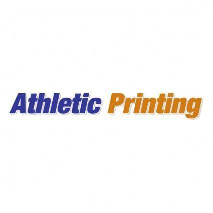 free vector Athletic printing