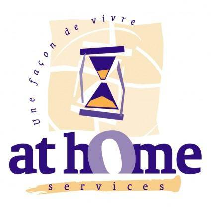 free vector At home services