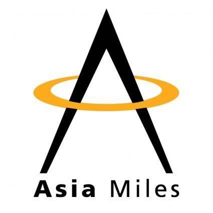 free vector Asia miles