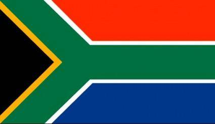 South African Flag Vector