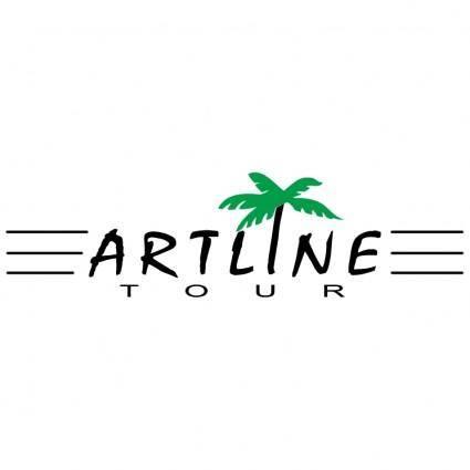 free vector Artline tour
