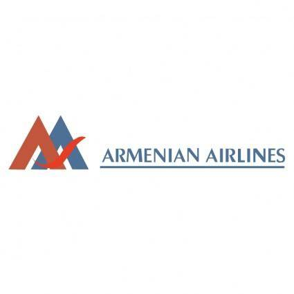 free vector Armenian airlines
