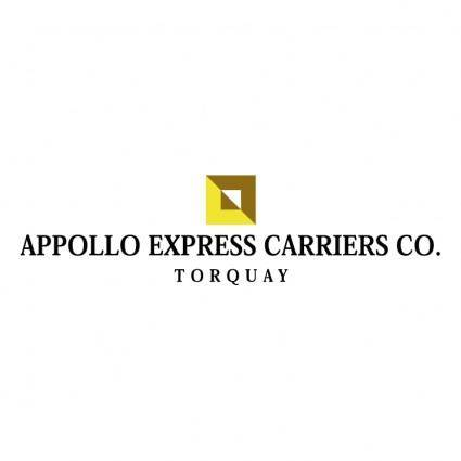 Appollo express carriers