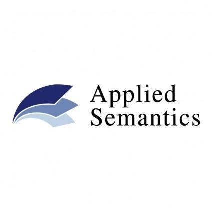 Applied semantics 0
