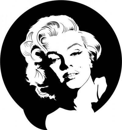 free vector Marilyn Monroe Vector