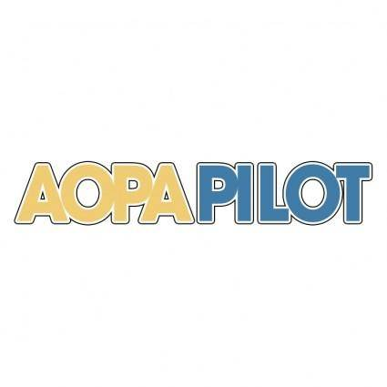 free vector Aopa pilot