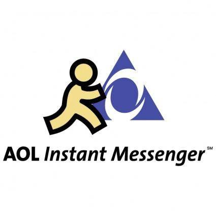 free vector Aol instant messenger 0