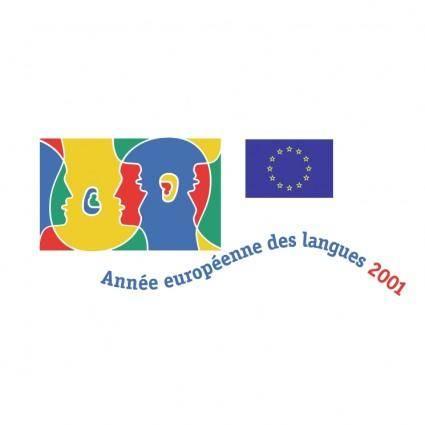 free vector Annee europeenne des langues