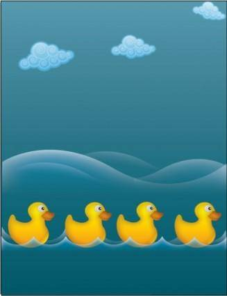 Water ducks 8816