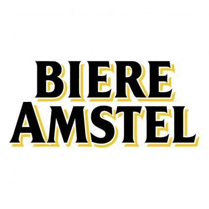 free vector Amstel biere 2