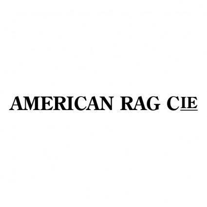 free vector American rag cie