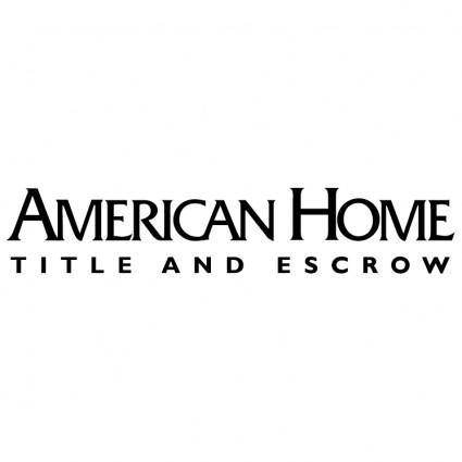 American home 0