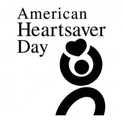 free vector American heartsaver day 0
