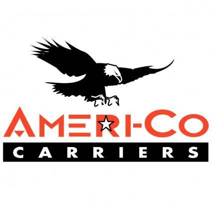 free vector Ameri co carriers
