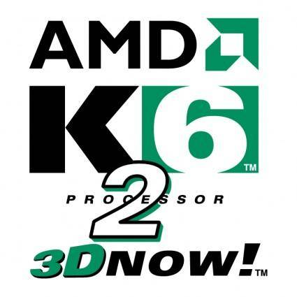 free vector Amd k6 2 processor
