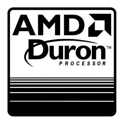 free vector Amd duron processor 0