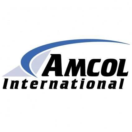 free vector Amcol international 0