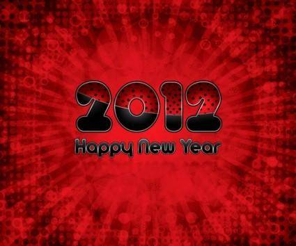 2012 creative font 06 vector