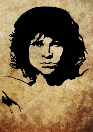 free vector Vector Freebie: Jim Morrison