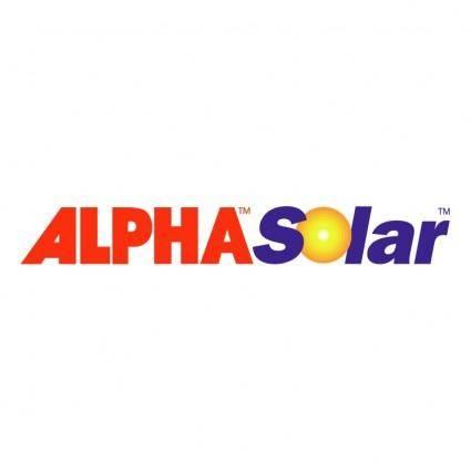 free vector Alpha solar