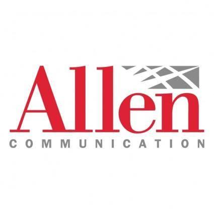 free vector Allen communication