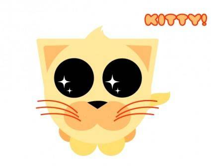 free vector Cute Orange Kitty