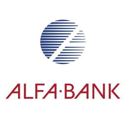 free vector Alfa bank 1