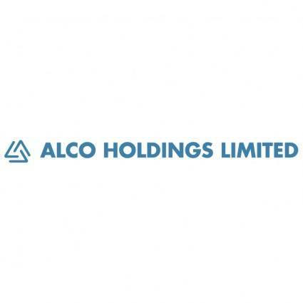 free vector Alco holdings limited