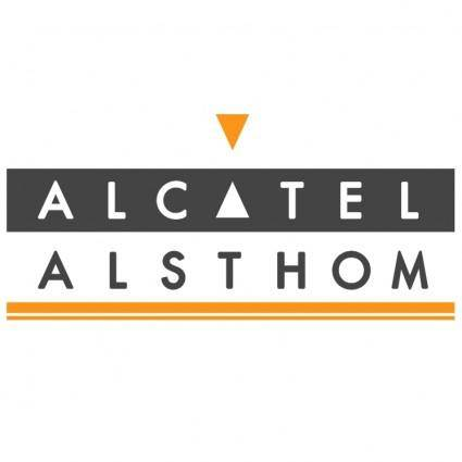 free vector Alcatel alsthom
