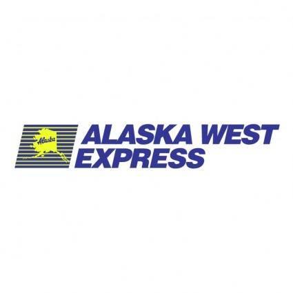free vector Alaska west express