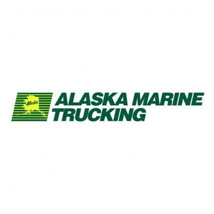 free vector Alaska marine trucking