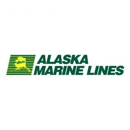 free vector Alaska marine lines