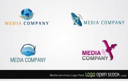 Media Services Logo Pack 8839