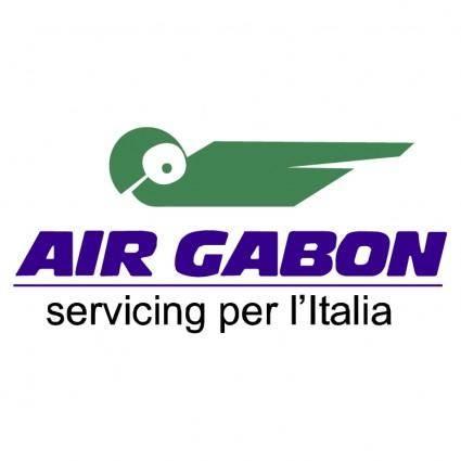 free vector Air gabon